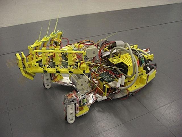 Англичане создали робота-крысу