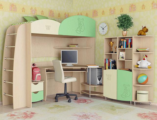 Детская комната. Ее особенности и мебель для нее