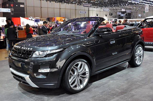 Кабриолет Range Rover