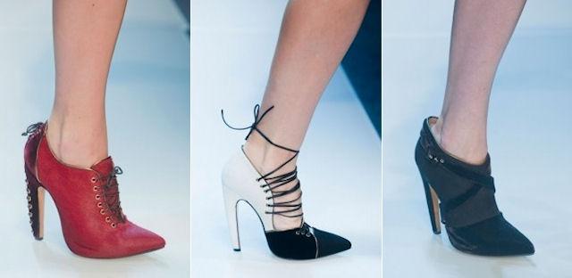 Модные туфли и ботильоны осени 2013 года