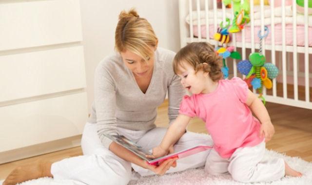 Когда нужно начинать читать ребенку книги?