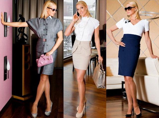 Офисный стиль для работающих леди