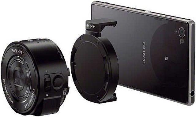 Особенности новинки камеры-объектива Sony DSC-QX10