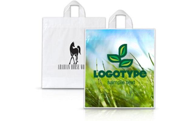 Пакет с логотипом - дизайн, имидж и стиль