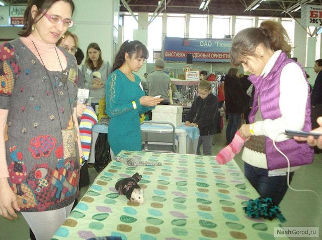 В Тюмени прошла выставка крыс