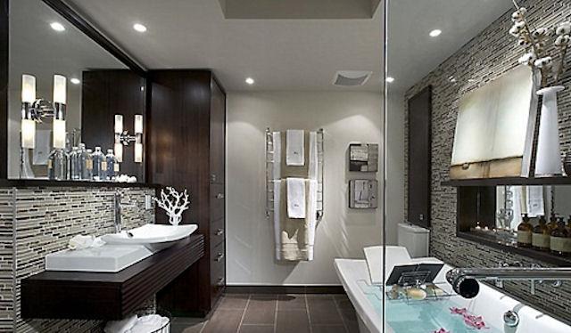 SPA стиль в ванной