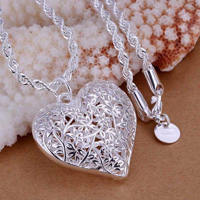 Стерлинговые серебряные ожерелья