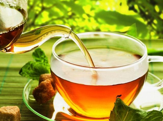 Травяной чай лучше зелёного