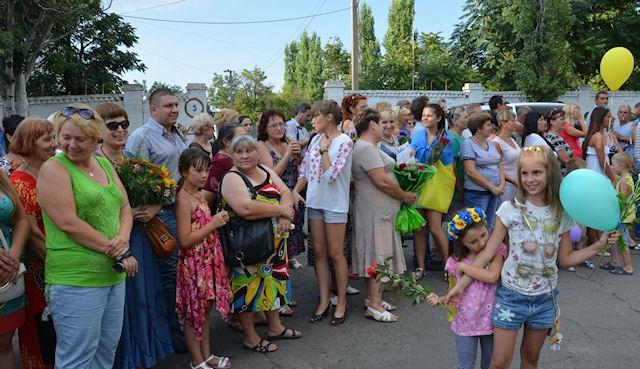В Николаеве торжественно встретили героев АТО