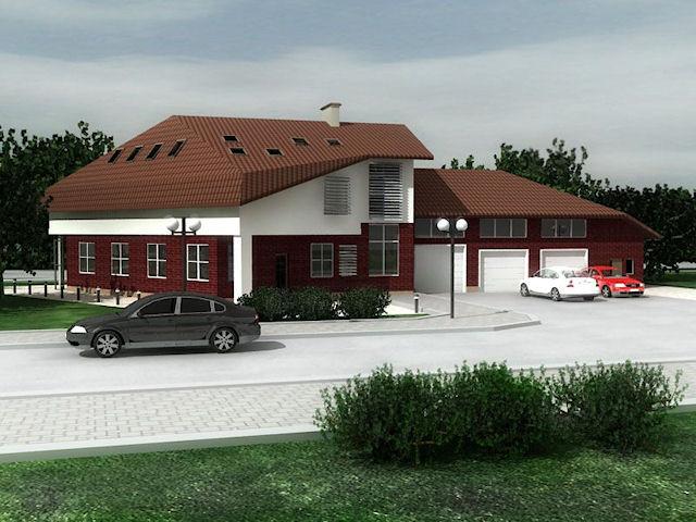 Варианты проекта загородного дома