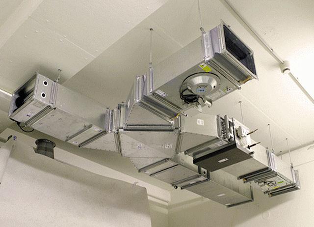Вентиляционная система для влажных помещений