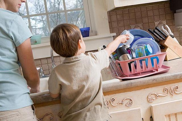 Воспитание трудолюбия у мальчика