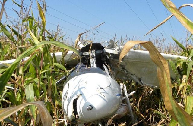 Жертвой крушения самолёта в Черниговской области стал 1 человек