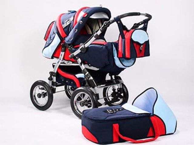 Стимулируйте чувства вашего малыша при помощи функциональной детской коляски