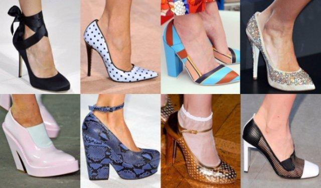Модная обувь. Весна-лето