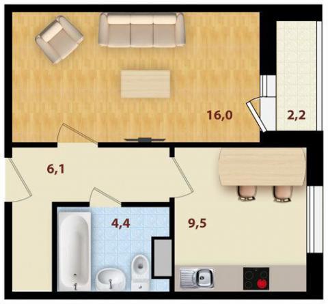 В Киеве стремительно дешевеют однокомнатные квартиры