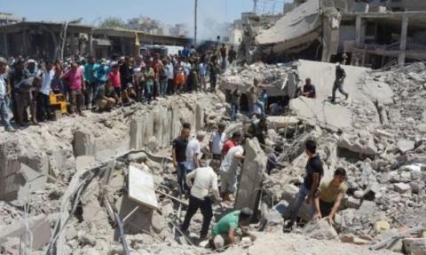 Не менее 50 человек погибли от взрыва в Сирии (ВИДЕО)