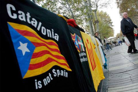 Каталонский парламент одобрил начало отделения от Испании