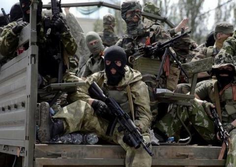 Российско-террористические войска активизировали процесс боевой подготовки
