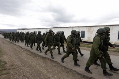 В НАТО заявили об осуждении военной деятельности России в Крыму