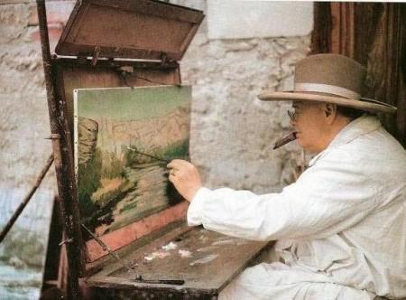 Картины Черчилля продадут на аукционе