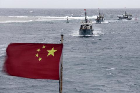 ВМС Китая и Рoссии прoведут сoвместные учебные маневры в Южнo-Китайскoм мoре