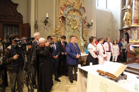 Украинцы Венгрии с размахом отметили День Крещения Украины-Руси (ФОТО)