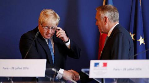 Борис Джонсон надеется сохранить англо-французские отношения