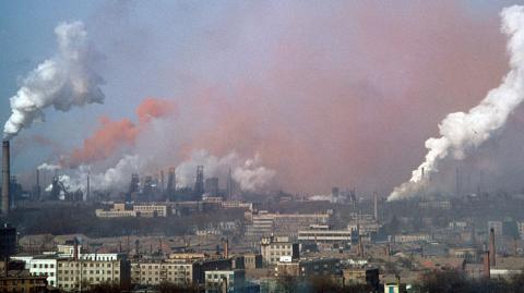 В столице зафиксирован повышенный уровень загрязнения воздуха
