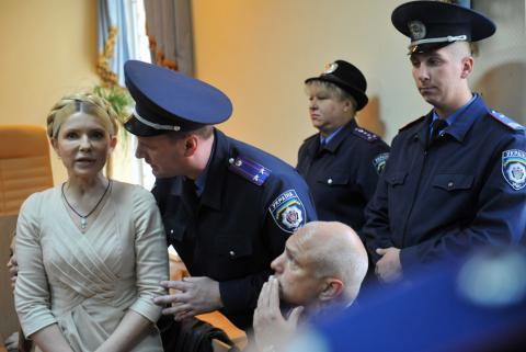 Суд приговорил сотрудника Качановской колонии к 3 годам тюрьмы за насилие над Тимошенко