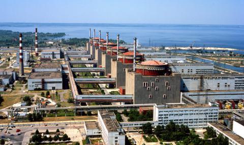 Энергоблок Запорожской АЭС остановлен до октября