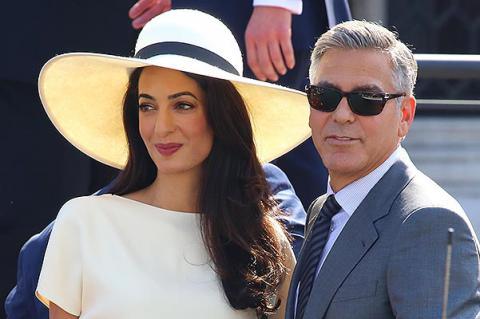 Джордж Клуни в 55 лет впервые станет отцом