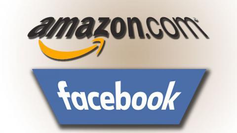 Facebook проигрывает Amazon по рыночной капитализации
