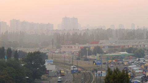 Стало известно, из-за чего появился смог в Киеве