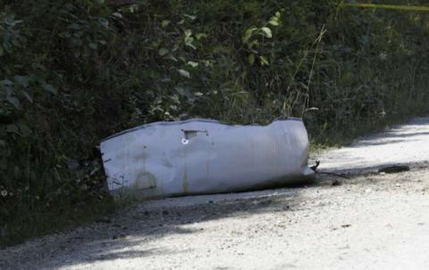 В США разбился медицинский самолет, есть жертвы