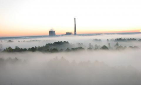 Киевский смог начинает рассеиваться