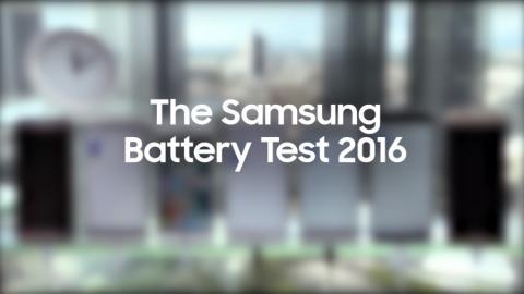 Компания Samsung сравнила автономность ключевых смартфонов 2016 года (Видео)