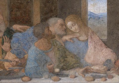 Есть ли скрытое послание в «Тайной вечере» Леонардо да Винчи?  (ФОТО)