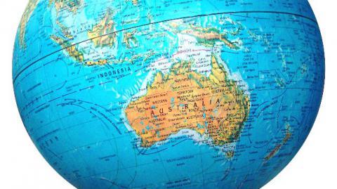 Австралийский континент сдвинулся на полтора метра