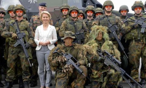 Бороться с терроризмом в Германии будет армия