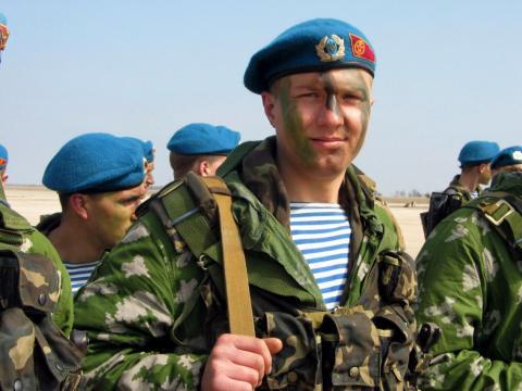 Сегодня в Украине отмечается день ВДВ (ВИДЕО)