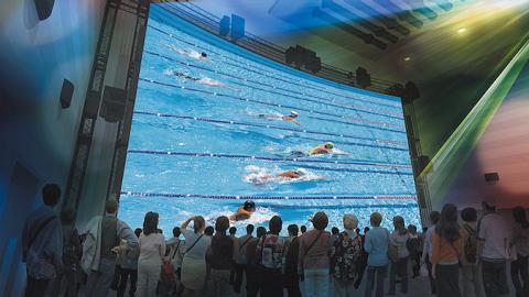 Японцы посмотрят Олимпиаду в формате 8K