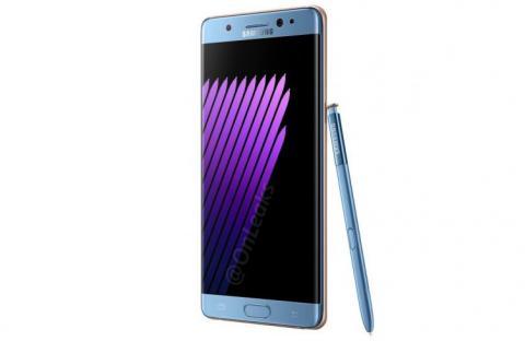 Samsung представила Galaxy Note 7