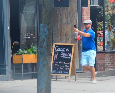 В центре Нью-Йорка охотой на покемонов занялся Леонардо Ди Каприо