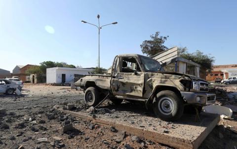 В Бенгази в результате взрва погибли 22 человека