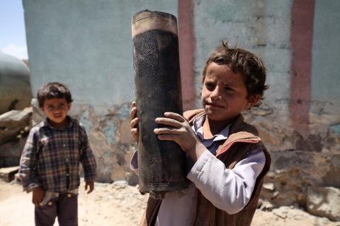 Глава ООН призвал все государства мира защитить детей от ужасов войны